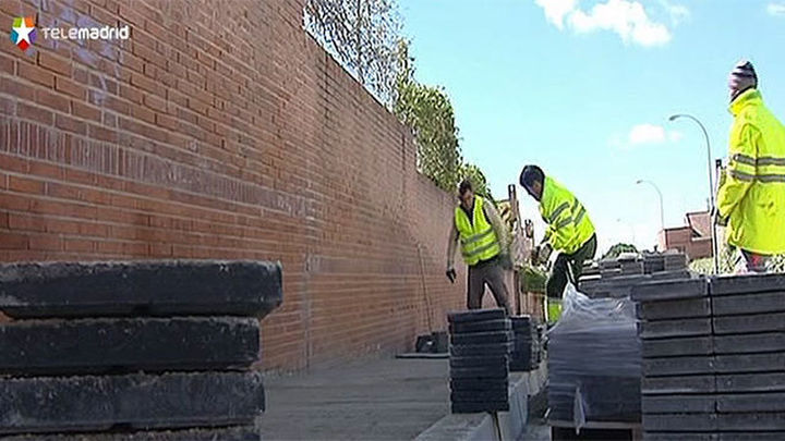 Remodeladas varias calles de Arganda con 1,5 millones del Plan PRISMA
