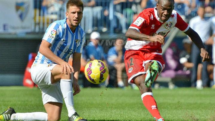 El Rayo busca ante el Málaga seguir ascendiendo en la Liga