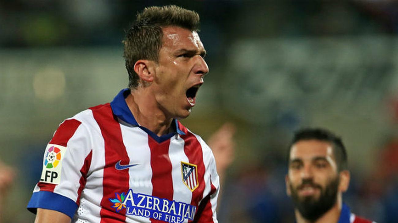 Mario Mandzukic, jugador del At. Madrid