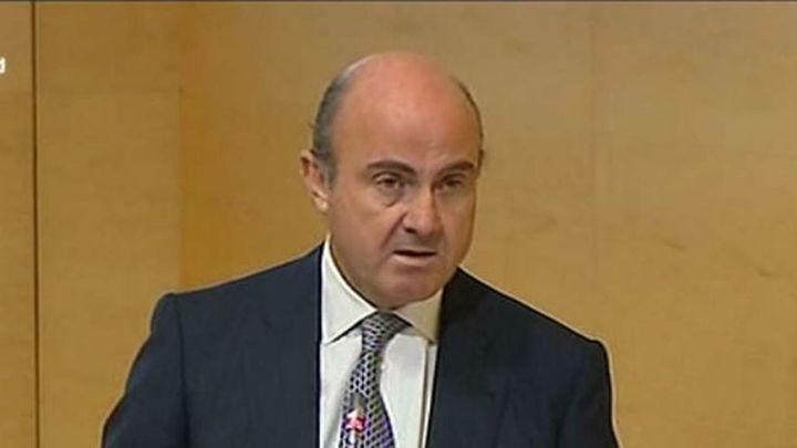 """De Guindos: """"La banca española está en condiciones de contribuir a recuperación"""""""