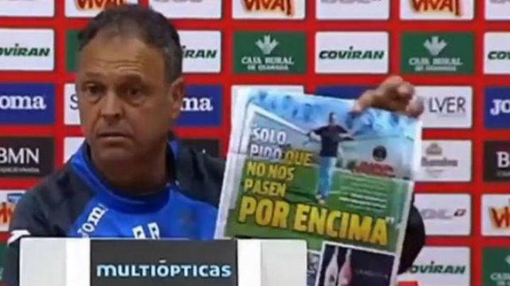 "Caparrós sobre la visita del Madrid: ""No regalo nada ni a mi padre"""