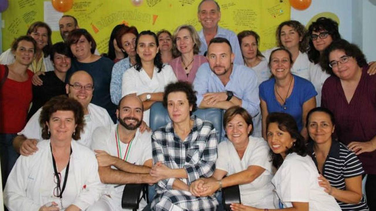 Teresa Romero sale del aislamiento casi un mes después de contraer el ébola