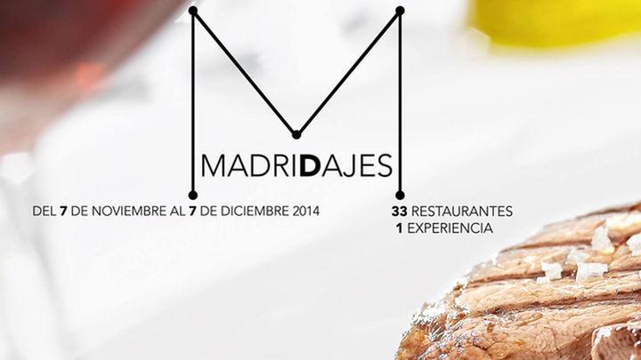 Carne y vino de Madrid en 'MadriDajes', disponible este mes en 34 restaurantes