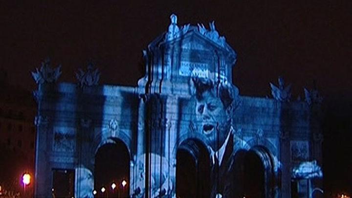 La Puerta de Alcalá proyectará imágenes de la historia del Muro de Berlín