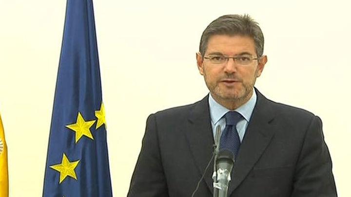 Catalá espera que el Supremo se oponga al descuento de penas a etarras
