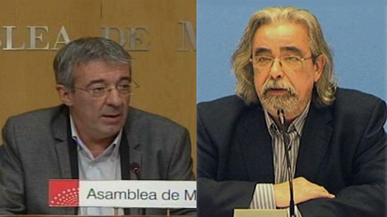 Gregorio Gordo y Angel Pérez