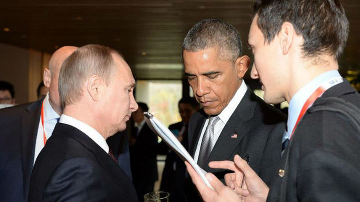 Obama y Putin hablan sobre Ucrania, Siria e Irán al margen de la cumbre APEC