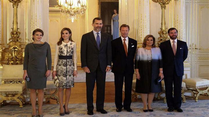 Los Reyes de España vistan Luxemburgo