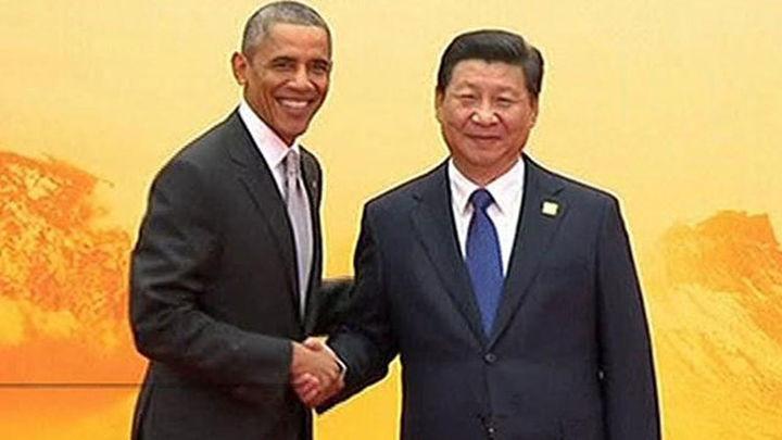 Xi y Obama inician dos días de reuniones con una China victoriosa tras APEC
