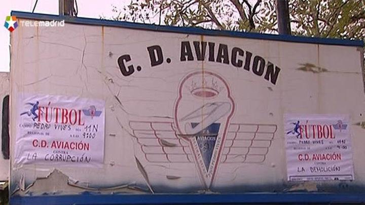 El Ayuntamiento ofrece al Club Aviación el Campo de Las Cruces