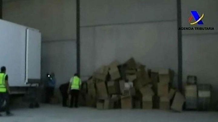 Detenidas 50 personas por contrabando de tabaco en una operación coordinada en Lugo