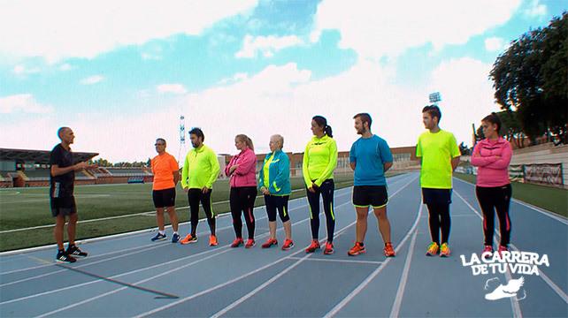 Ocho runners que nunca había corrido afrontan la San Silvestre