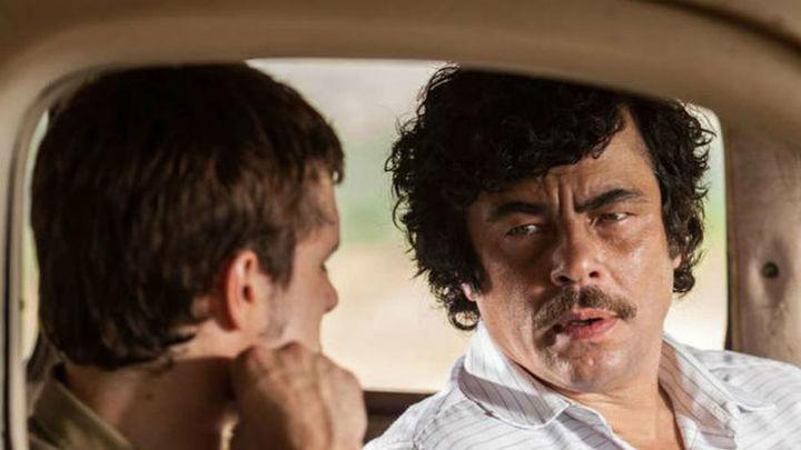 Benicio del Toro llena la cartelera con su retrato del 'narco' Escobar