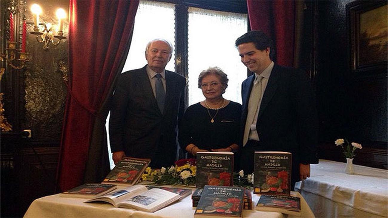 """Presentación del libro """"Gastronomía en Madrid"""""""