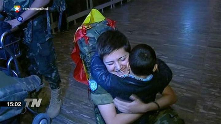 Los soldados de la Brigada XXI desplegada en Líbano regresan a Zaragoza