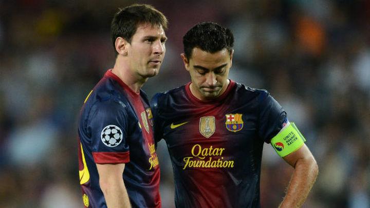 """Xavi: """"Messi sería aún mejor en la Premier"""""""