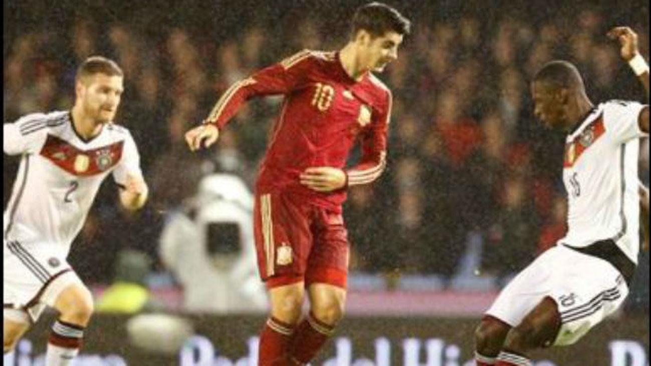 Álvaro Morata, Selección española