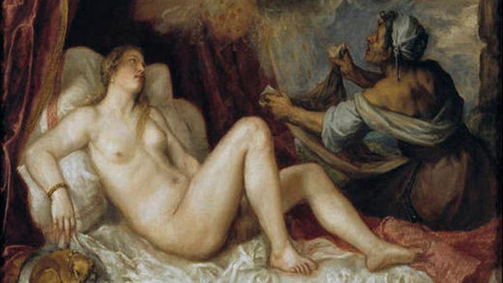 El Museo del Prado restaura dos de las seis 'Poesías' de Tiziano