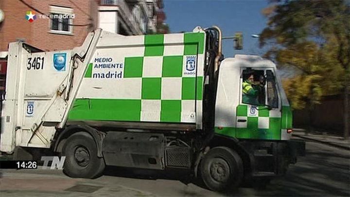 El Ayuntamiento de Madrid actuará contra FCC por el estado de los camiones de basura