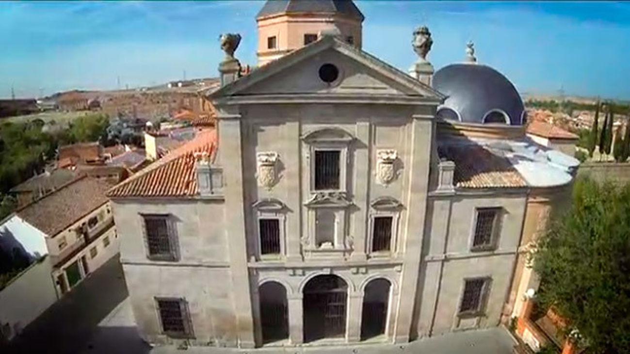 Loeches: El Panteón de la Casa de Alba