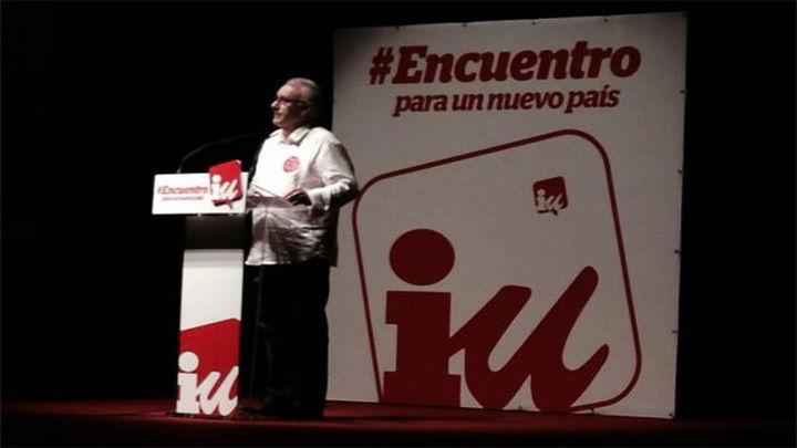 """Cayo Lara alerta de una operación para """"cargarse"""" IU"""