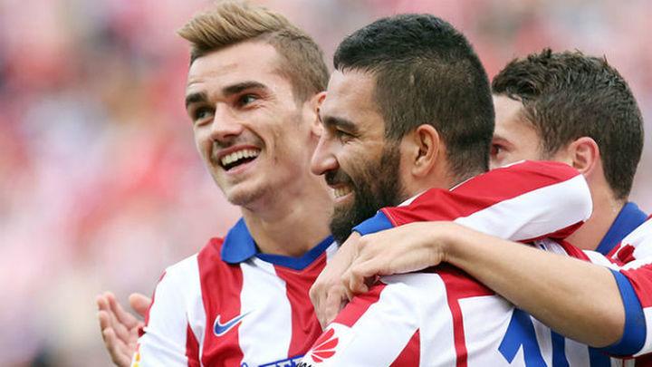 3-1. Triunfo práctico del Atlético ante el Málaga