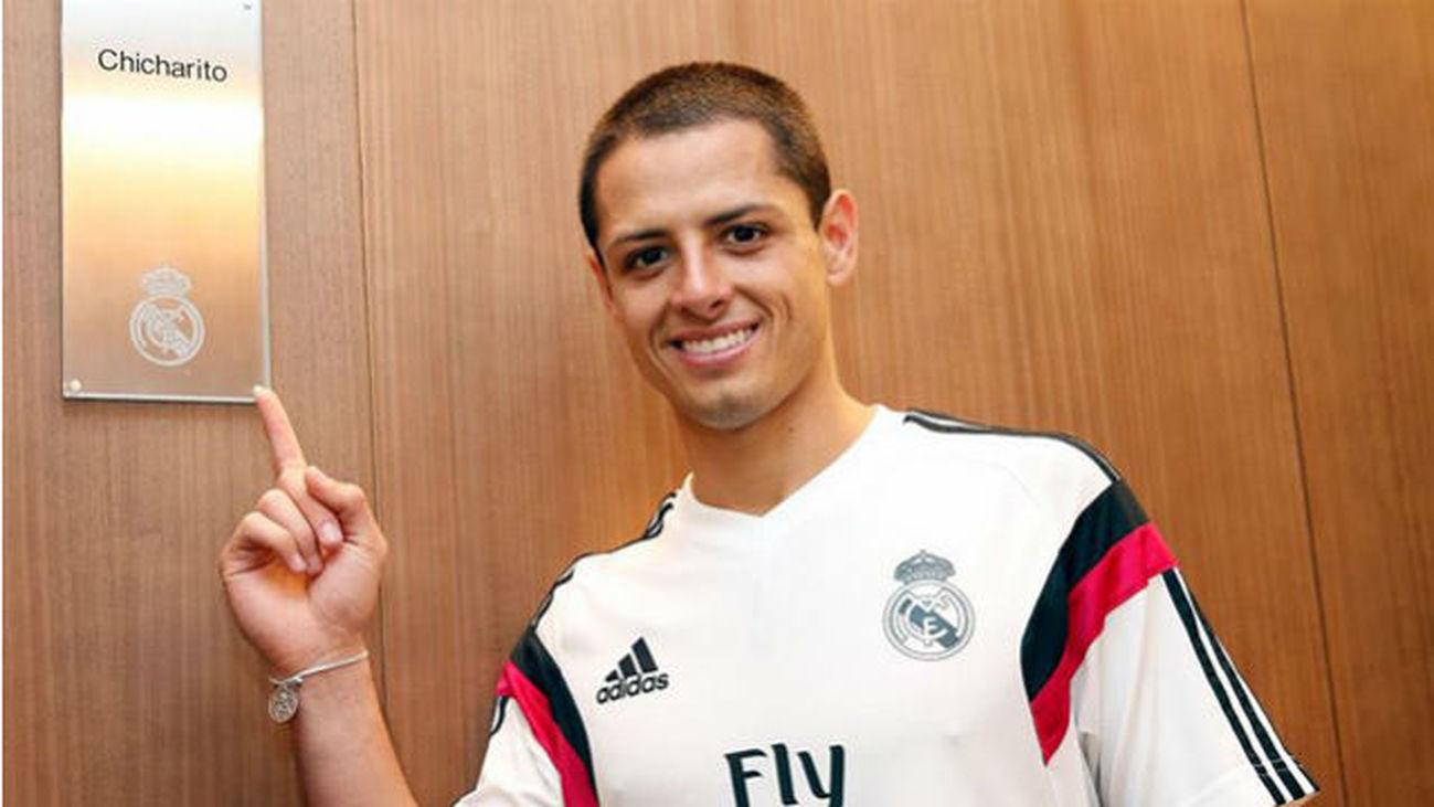 'Chicharito' Hernández, Real Madrid