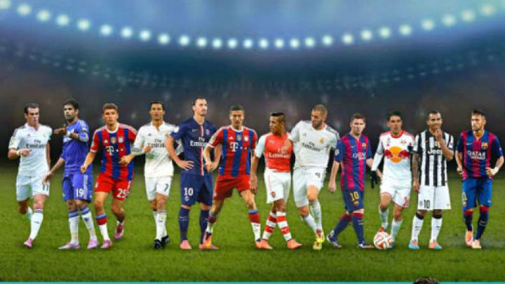 Ocho del Madrid y cuatro del Atleti para el once ideal UEFA