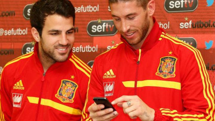 """Cesc, a Ramos: """"Me jode que duden de mi compromiso"""""""