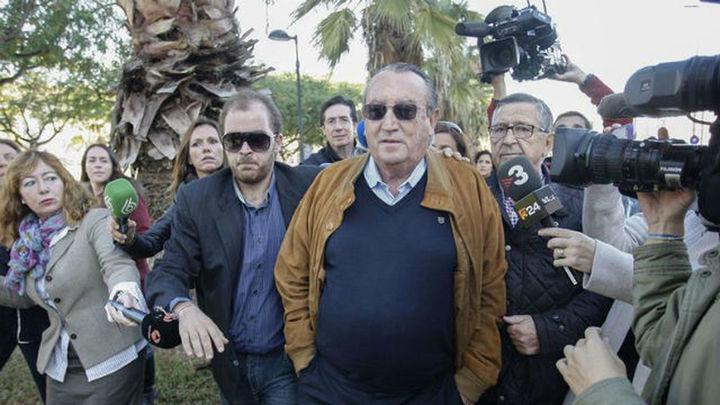 Carlos Fabra ingresa en la prisión de Aranjuez