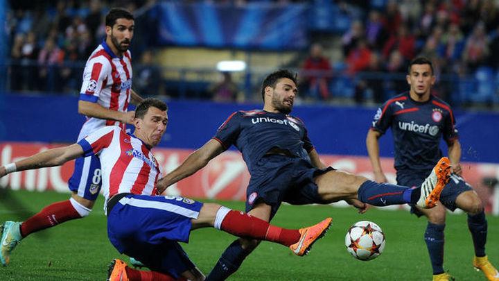 4-0. Un hat trick de Mandzukic mete al Atlético en octavos