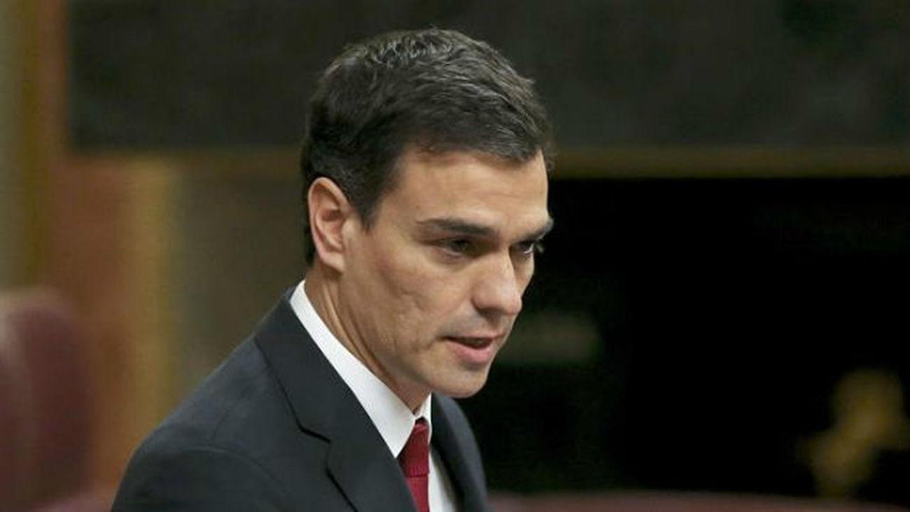 """Sánchez: """"Rajoy no está capacitado ni legitimado para limpiar la democracia"""""""