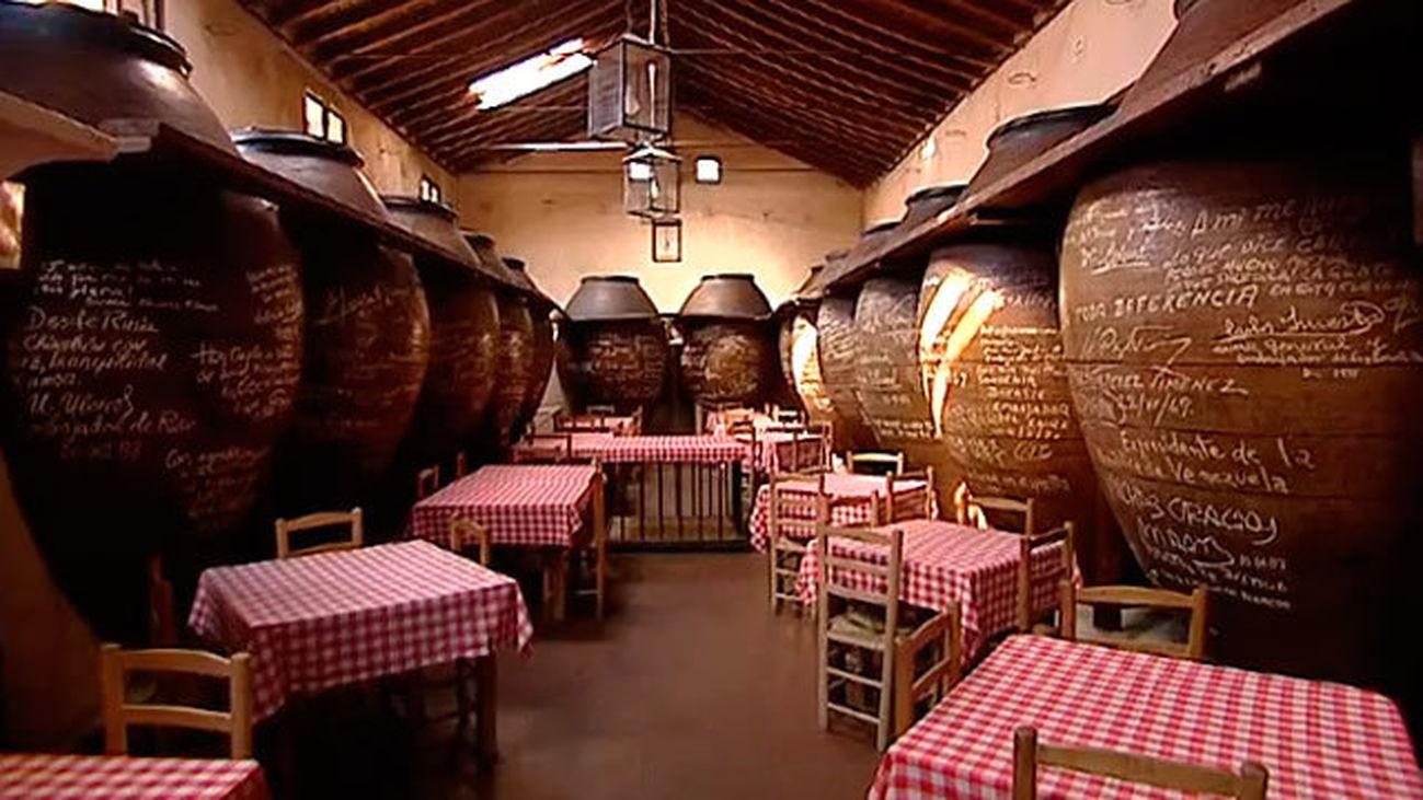 Chinchón: Mesón Cuevas del Vino
