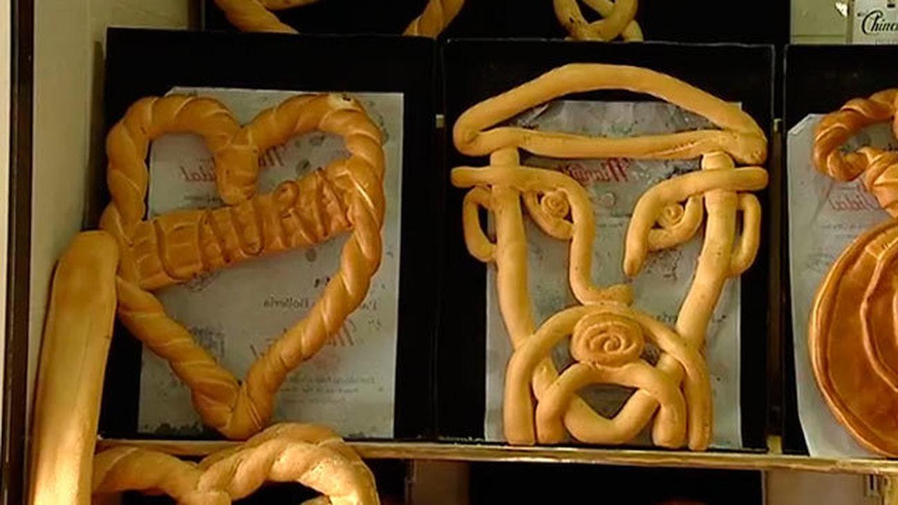 Chinchón: Panadería Vidal, obras de arte hechas en pan