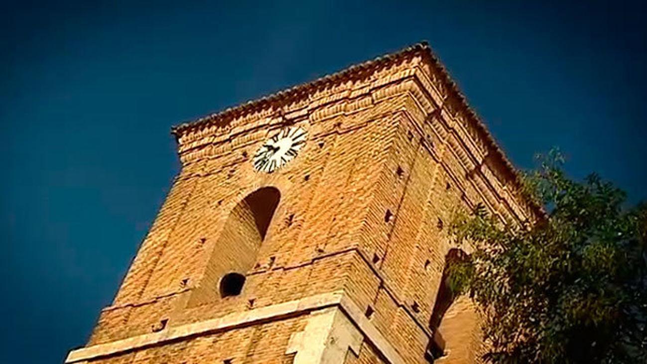 Chinchón: La torre del Reloj