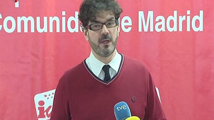 Eddy Sánchez dimite como coordinador de IU en la Comunidad