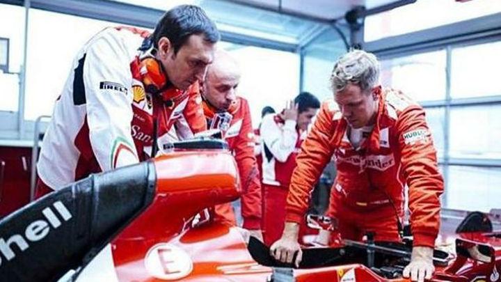 """Vettel describe como """"un cuento de hadas"""" su primer contacto con Ferrari"""