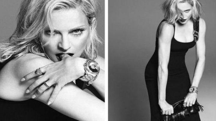 Madonna, imagen de la próxima temporada de Versace a los 56 años