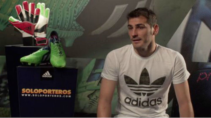 """Casillas: """"Me gustaría jugar en Estados Unidos"""""""