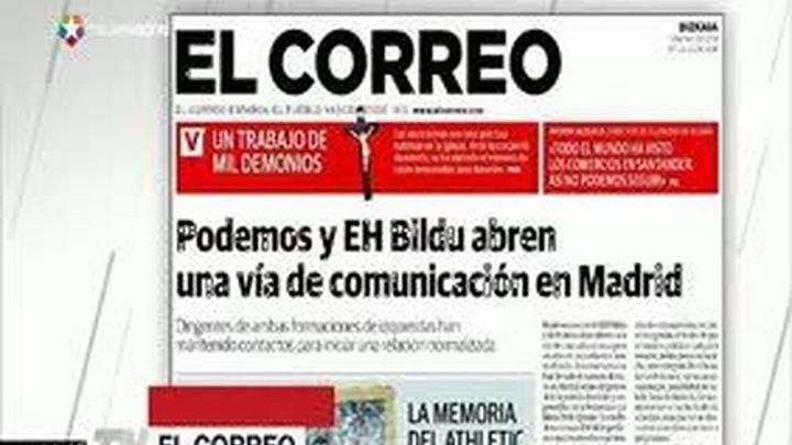 Podemos y Bildu mantienen contactos en Madrid