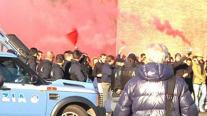Huelga general en Italia contra las políticas de Renzi