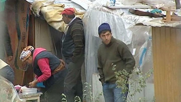 Desalojan el poblado de Cristo Rey en el que residían 69 rumanos