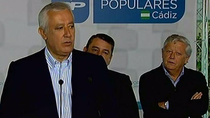 """Arenas acusa a Sánchez llevar al PSOE a la """"pérdida de identidad"""" con pactos"""