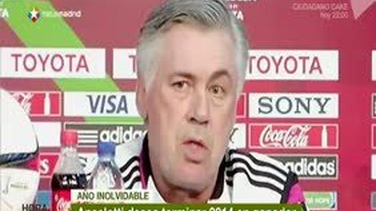 """Ancelotti: """"Ganar el Mundialito cerraría un año inolvidable"""""""