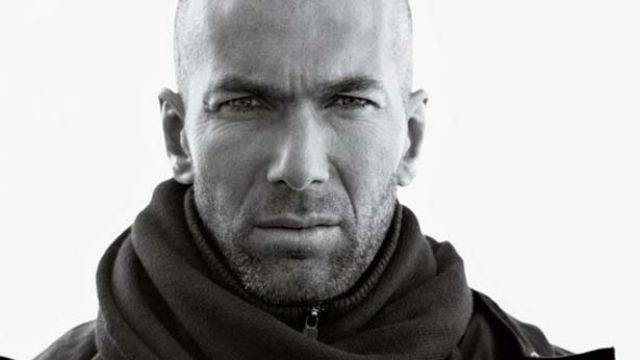 Zinedine Zidane, también modelo