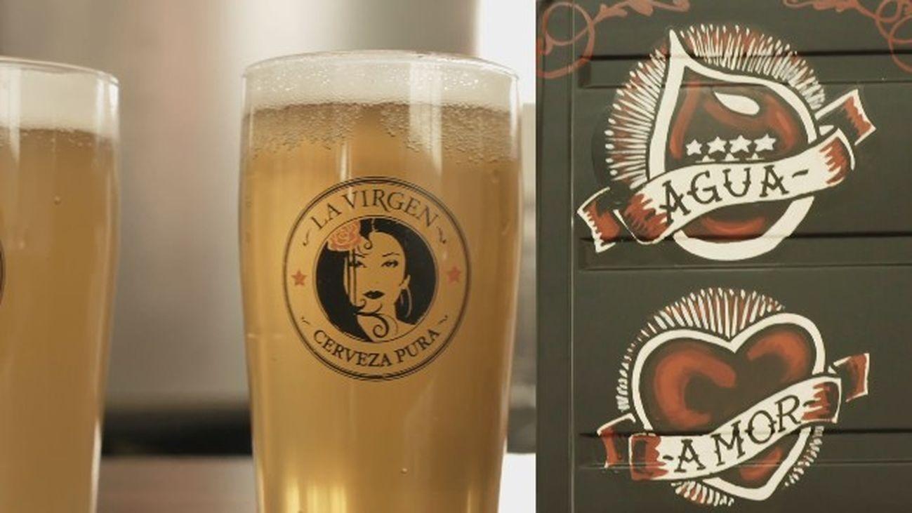 La Virgen, una cerveza artesana, diferente y refrescante