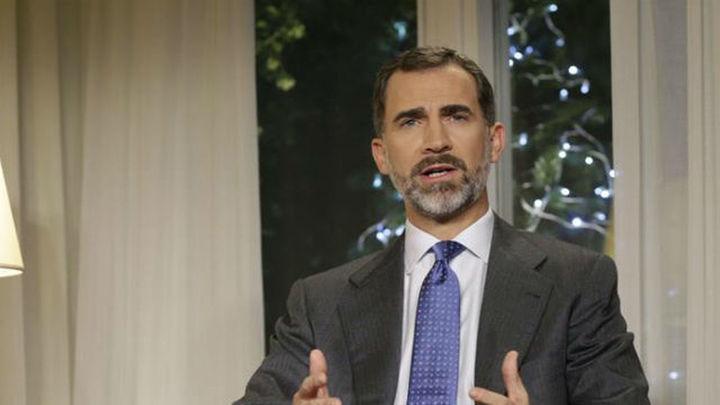 """Felipe VI: """"Debemos cortar de raíz y sin contemplaciones la corrupción"""""""