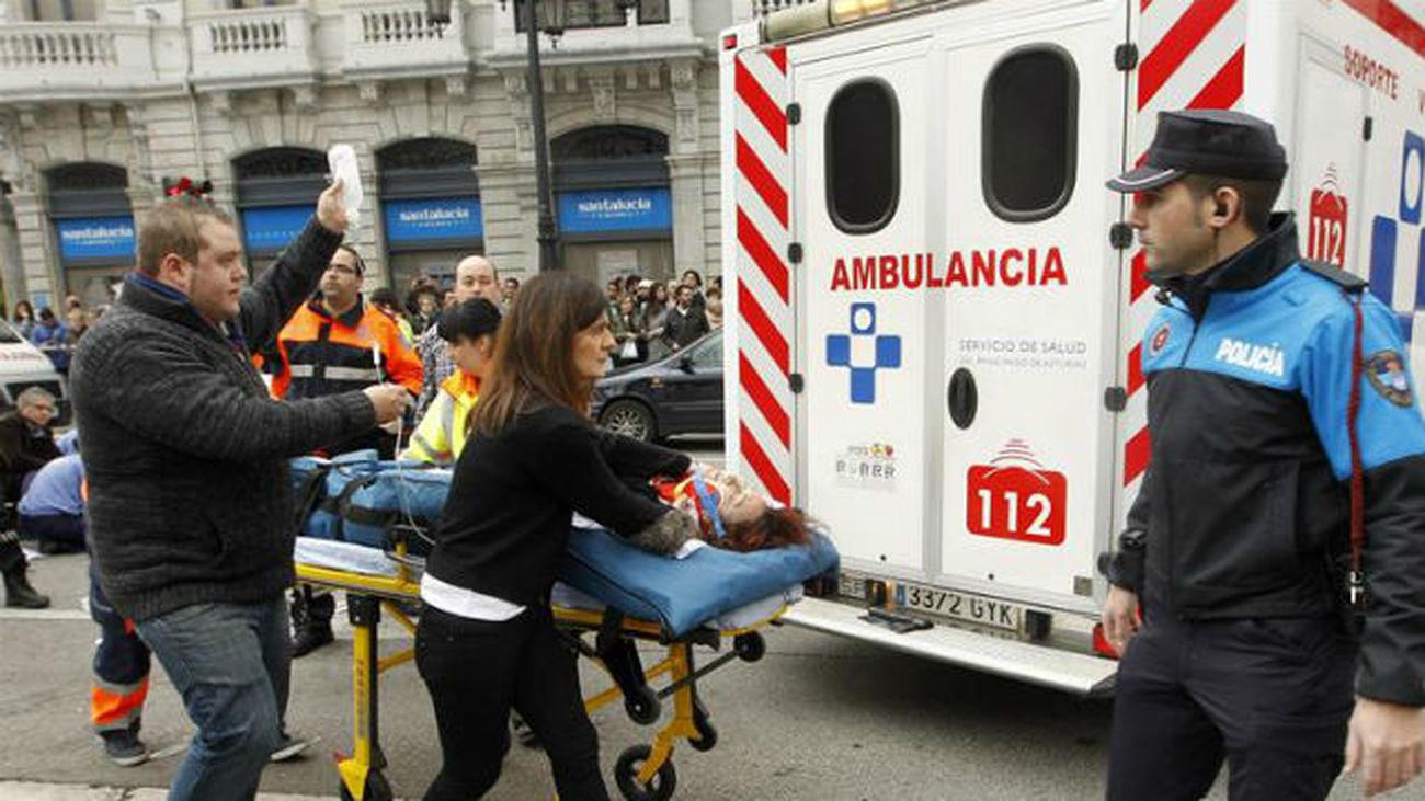 En libertad con cargos el autor  del atropello múltiple de Oviedo