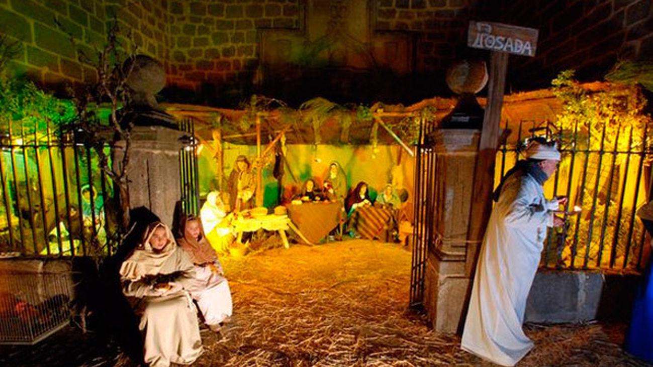 Colmenar de Oreja: El belén viviente de Colmenar