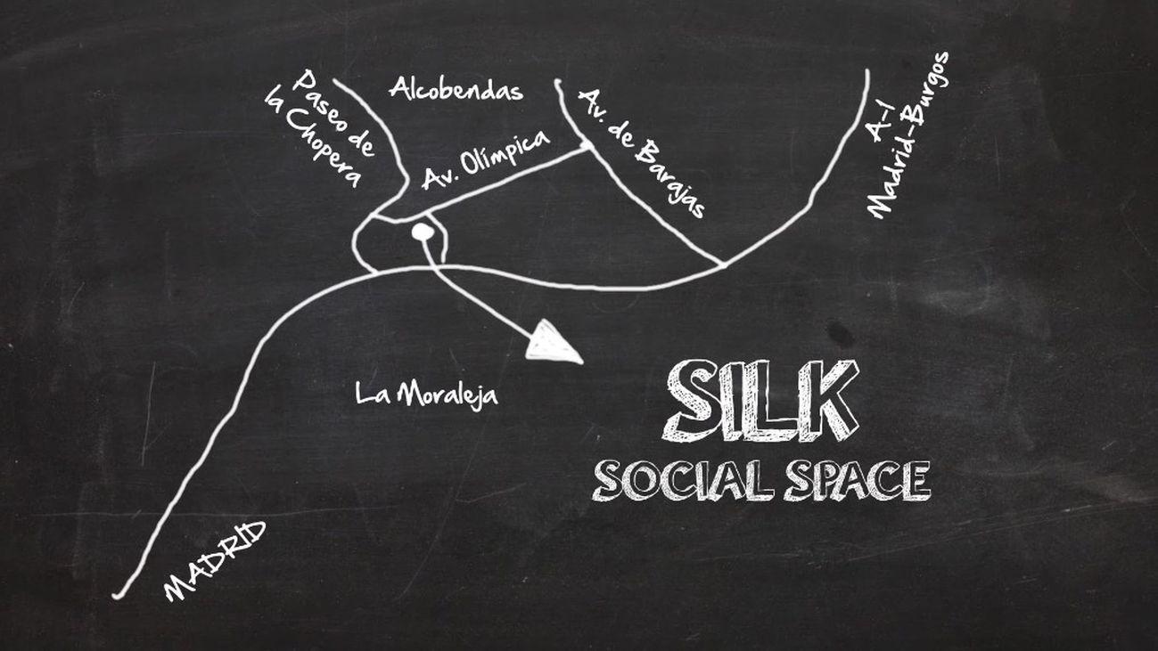 El Silk Social Space , tres en uno